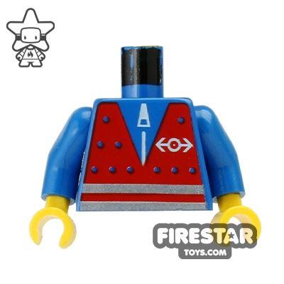 LEGO Mini Figure Torso - Train Worker