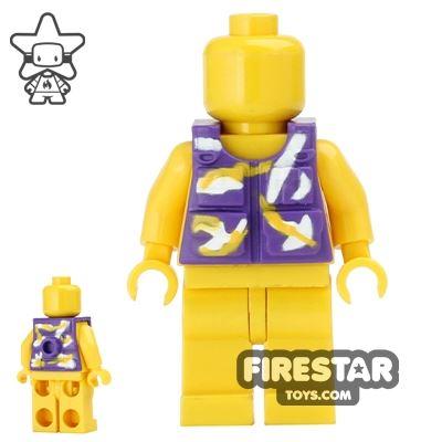 BrickForge - Tactical Vest - Dark Purple Camo