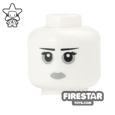 LEGO Mini Figure Heads - Goth Makeup