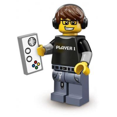 LEGO Minifigures - Gamer