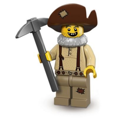 LEGO Minifigures - Prospector