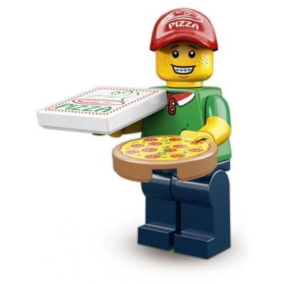 LEGO Minifigures - Pizza Delivery Man