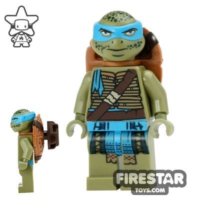 LEGO Teenage Mutant Ninja Turtles Mini Figure - Leonardo - Scabbard