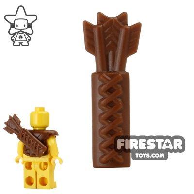 BrickWarriors - Quiver - Brown
