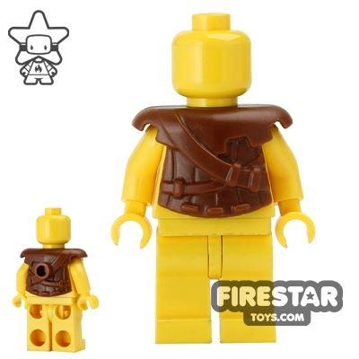 BrickWarriors - Archer Armour - Brown