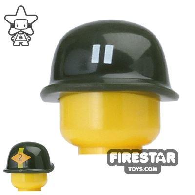 BrickForge - M1 Helmet - Army Green 2nd Ranger Battalion Print