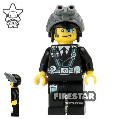 LEGO Ultra Agents Mini Figure - Agent Curtis Bolt - Goggles