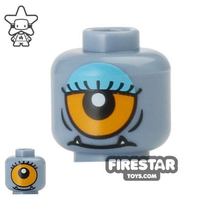LEGO Mini Figure Heads - Lady Cyclops