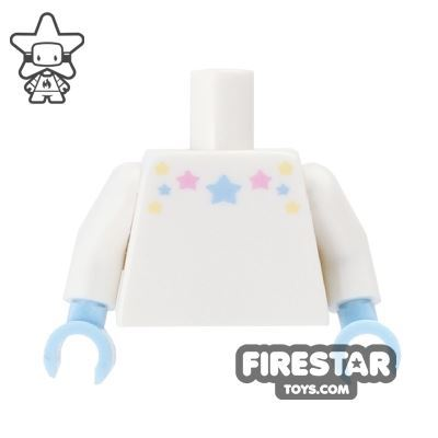 LEGO Mini Figure Torso - Unicorn Girl