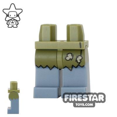 LEGO Mini Figure Legs - Cyclops