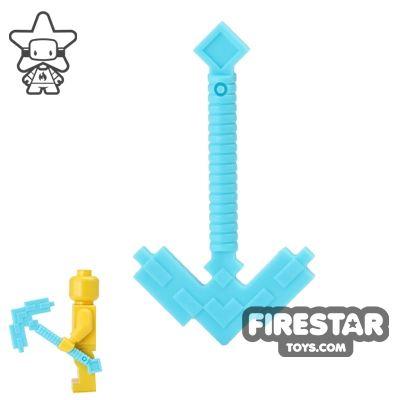 LEGO - Minecraft Pickaxe - Medium Azure