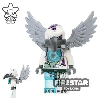 LEGO Legends of Chima Mini Figure - Voom Voom - Flat Silver Armour