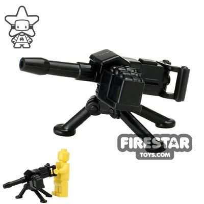 Brickarms - MK19 Grenade Launcher with Tripod - Black