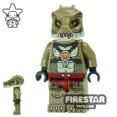 LEGO Legends of Chima Mini Figure - Crocodile Warrior 2
