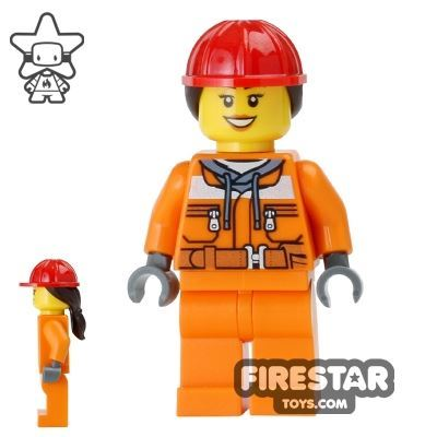 LEGO City Mini Figure - Construction Worker 13