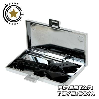 Amazing Armory - Chrome Silver Guitar Case
