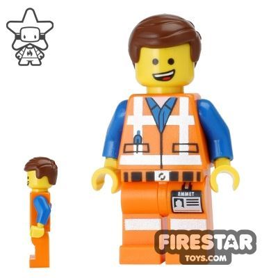 The LEGO Movie Mini Figure - Emmet - Open Mouth Smile