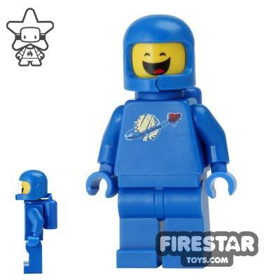 The LEGO Movie Mini Figure - Benny - Closed Eyes