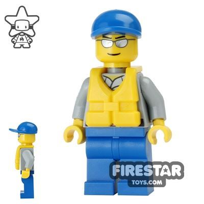 LEGO City Mini Figure - Coast Guard City - Rescuer 2