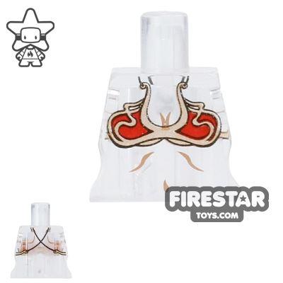 Arealight Mini Figure Torso - Bikini - Trans Clear
