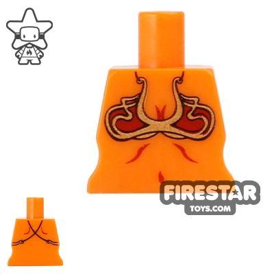 Arealight Mini Figure Torso - Bikini - Orange