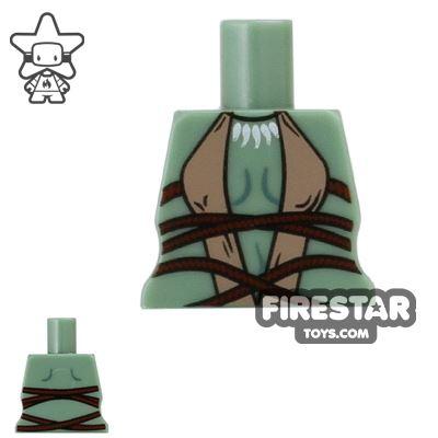 Arealight Mini Figure Torso - Tribal - Sand Green