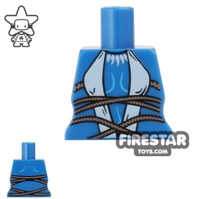 Arealight Mini Figure Torso - Tribal - Blue