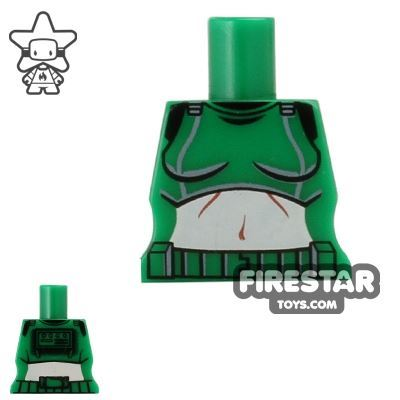 Arealight Mini Figure Torso - Femtrooper V2 - Green
