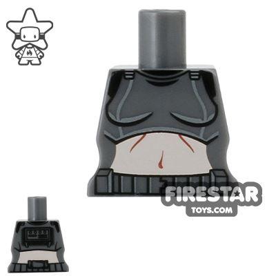 Arealight Mini Figure Torso - Femtrooper V2 - Dark Gray