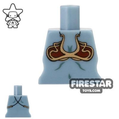 Arealight Mini Figure Torso - Bikini - Sand Blue