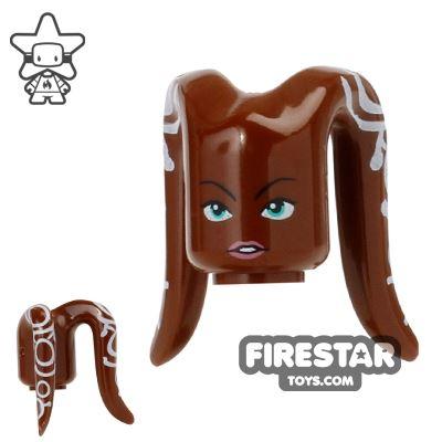 Arealight Mini Figure Heads - Hera - Brown
