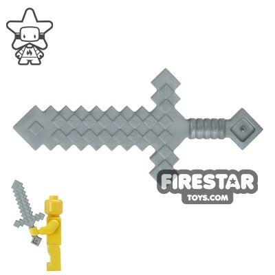 LEGO - Minecraft Sword - Flat Silver