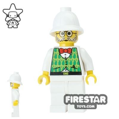 LEGO Adventurers Mini Figure - Dr Kilroy