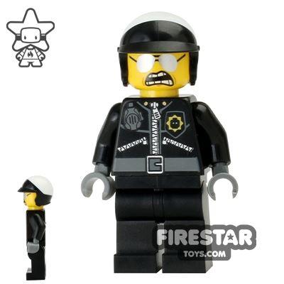 The LEGO Movie Mini Figure - Bad Cop - Open Mouth