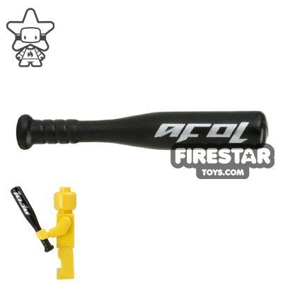 BrickForge - Aluminium Baseball Bat - Black AFOL Print