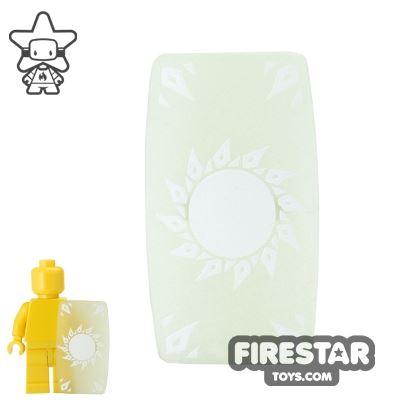 BrickForge - Military Shield - Glow in the Dark Star Print