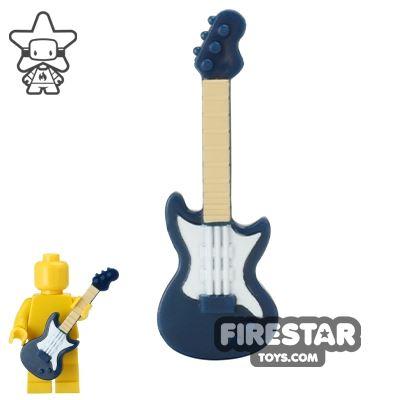 BrickForge - Electric Guitar - Dark Blue with Tan Neck