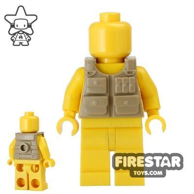 BrickForge - Tactical Vest - Dark Tan