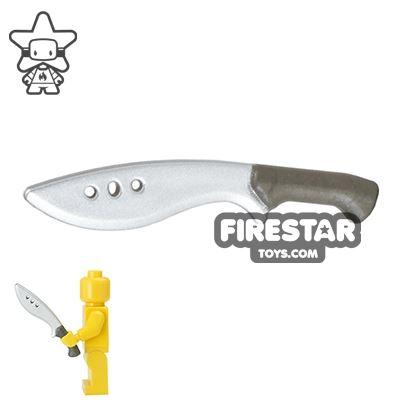 BrickForge - Kukri - Silver Blade - Steel Handle
