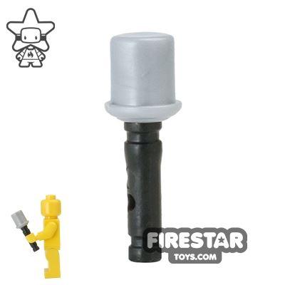 BrickForge - Black Stick Grenade - RIGGED System - Black and Silver