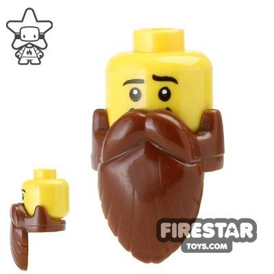 BrickForge Hair - Sage Beard - Reddish Brown