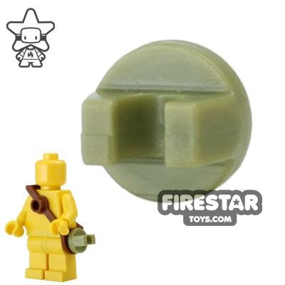 BrickForge - Round Clip - Olive Green - RIGGED System