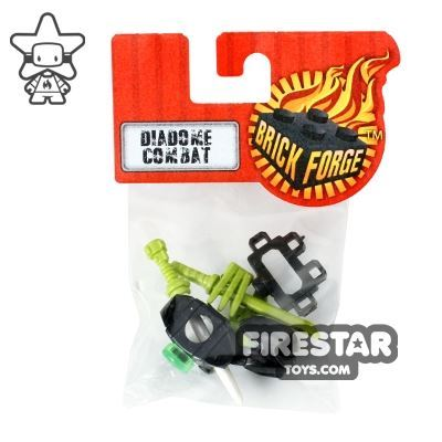 BrickForge Accessory Pack -  Diadome Combat Champion - Lime