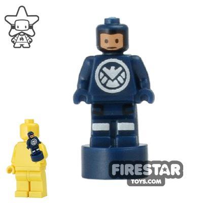 LEGO - Minifigure Statuette - SHIELD Agent