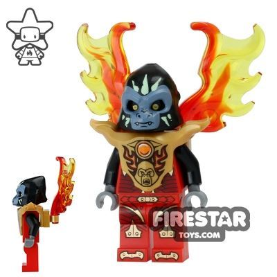LEGO Legends of Chima Mini Figure - Gorzan with Flame Wing Armour