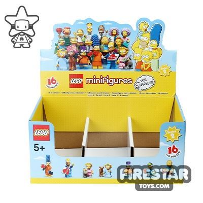 LEGO - The Simpsons Minifigures 2 Collectable Shop Display Box
