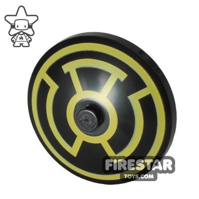 Printed Inverted Dish - Ø32X6.4 - Sinestro Logo