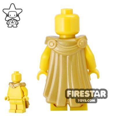 BrickWarriors - Spartan Cape - Gold