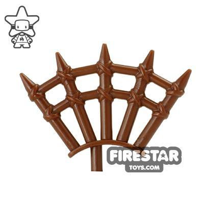BrickWarriors - Wooden Spikes - Brown