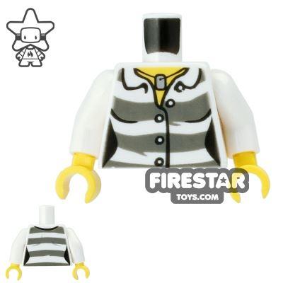 LEGO Mini Figure Torso - Female Prisoner